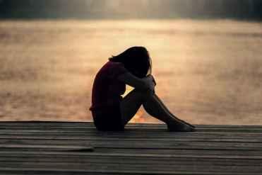suffering girl